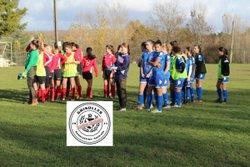 AAG U15 Féminine - 08/12/2018 - Match contre Négrepelisse - Association Amicale Grisolles