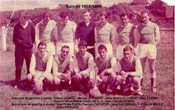 AS TREMEVEN SAISON 1965- 1966 - AMICALE SPORTIVE TREMEVENOISE