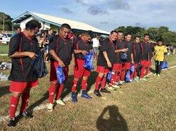 Les vétérans du Surinam et les Young Boys le samedi 22 septembre 2018 - ASC AWALA-YALIMAPO