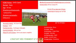 L'instant Kro-Finement n°17 - Football Club de BIARD