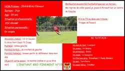 L'instant Kro-Finement n°15 - Football Club de BIARD