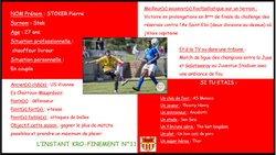 L'instant Kro-Finement n°11 - Football Club de BIARD