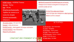 L'instant Kro-Finement n°16 - Football Club de BIARD