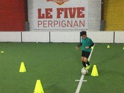 CHARLOTTE LOCUTY ET DJIBRIL SADALLAH - ASPTG ÉLITE FOOTBALL - FIVE PERPIGNAN - 14.01.2019 - ASSOCIATION SPORTIVE DE PRO-TRAINING GAMES