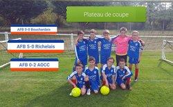 Photos du week end du 13/10/2018 -  Avenir Football Bourgueillois