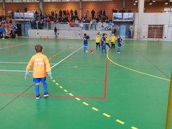Belle prestation de l'équipe U7 (composée de joueur de 2éme année) du CSSP qui a participé au tournoi en salle du Téléthon organisé par le GFA 74 à Rumilly. - Club Sportif de Saint-Pierre