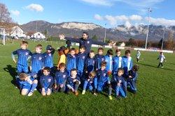 Les U7 fêtent la trêve sous le soleil... - Club Sportif de Saint-Pierre