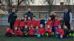 Ecole de football du CSG  avec les éducateurs....