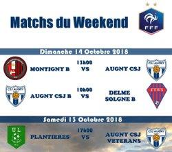 Match du Weekend du 13/10/2018