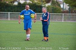 EdeG Séance du 27/09/18 Fin de Séance - Ecole de gardien de but Jean-Yves Cadiou