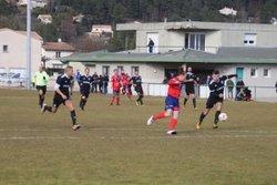 Seniors D1, O.C.A. bat Eyrieux-Embroye 2 à 0 - FC EYRIEUX EMBROYE
