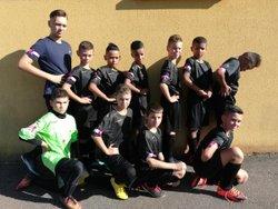 2° tour de la coupe du district Meurthe et Moselle à Pulnoy le samedi 13 octobre 18 - FC Lunéville U12