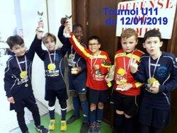 FCCS JEUNES U11 : un tournoi et des coupes ! - FOOTBALL CLUB COTE SAUVAGE