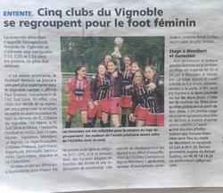 Création du GFV ! #GoGFV ! - Groupement Féminin du Vignoble