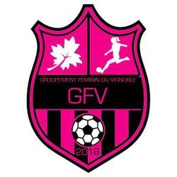 Logo GFV ! #GoGFV ! - Groupement Féminin du Vignoble