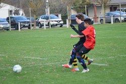 U15 JSC/Roquettes 2/1 le 08/12/2018 - Jeunesse Sportive Cintegabelloise
