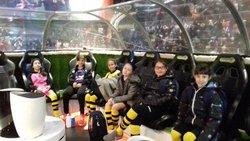 les U11f au play soccer de portet. - Jeunesse Sportive Cintegabelloise