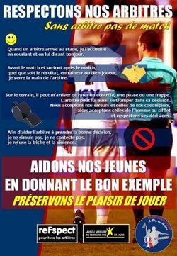 Respect des règles du sport - Maxéville Football Club