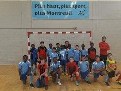 Matche U12U13 face à Karma FSC 18/11/2018 beau matche  et fairplay irréprochable !!?! - Associazione Club Montreuil Futsal         ACM MONTREUIL FUTSAL