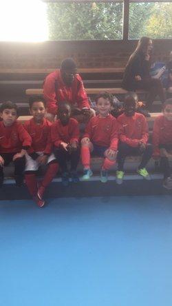Plateau futsal u6 drancy avec coach Yamadou du Plaisir et du talent - Associazione Club Montreuil Futsal         ACM MONTREUIL FUTSAL
