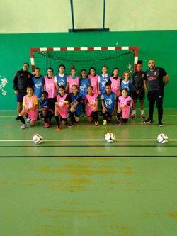Le pôle futsal féminin 2018-2019 - Associazione Club Montreuil Futsal         ACM MONTREUIL FUTSAL