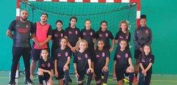 Séance samedi 13 octobre 2018 conservation jeux et célébration du nouveau maillot fille merci Original Flocker - Associazione Club Montreuil Futsal         ACM MONTREUIL FUTSAL