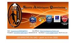 Point sur les effectifs du SAQ ! - Sports Athletiques Quercitains