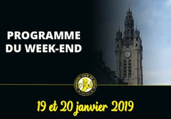 Le programme du week-end : 19 et 20 janvier