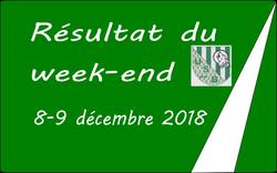 Résultats du 8-9 décembre