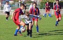U15 Elite - Haute Combraille (5-0), 13/10/18 - Union Sportive des Martres-de-Veyre Football