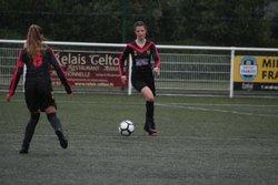 Matchs (coupe) des U15F VGA Bohars contre Spezet (06/10/2018) au Stade Mathieu Pellen. - VGABohars Féminines