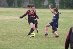 Match (Championnat) des U11F VGA Bohars contre Plouzané (13/10/2018) au Stade du bourg de Plouzané. - VGABohars Féminines