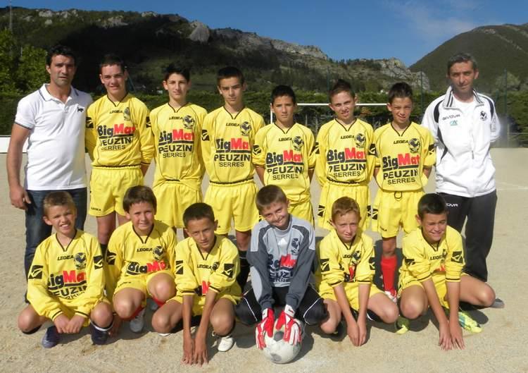 SPORTING CLUB SERROIS U 13