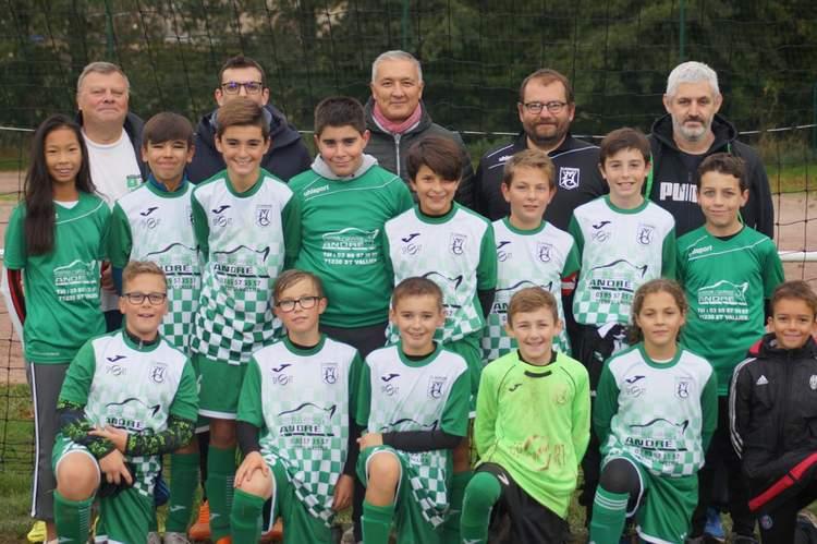 Football club de Marmagne U13