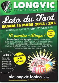 Affiche Loto Foot Longvic