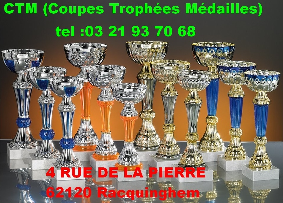 CTM COUPES TROPHEES MEDAILLES