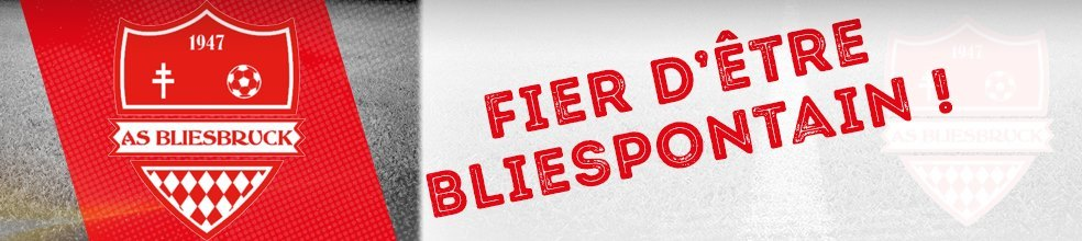 A.S. Bliesbruck : site officiel du club de foot de BLIESBRUCK - footeo