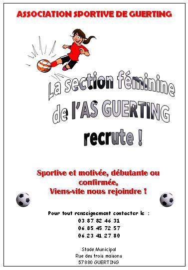 forum - recrutement des f u00e9minines