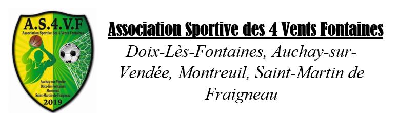Association Sportive des 4 Vents Fontaines : site officiel du club de foot de FONTAINES - footeo