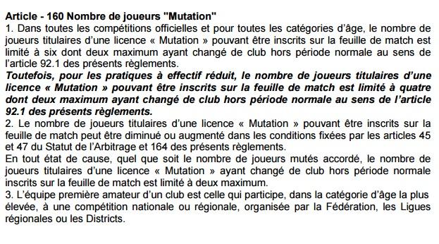 nb mutations equipe