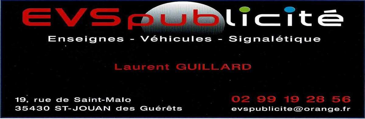 St Malo Fil Rouge evs publicité - club football a.s. jacques cartier saint