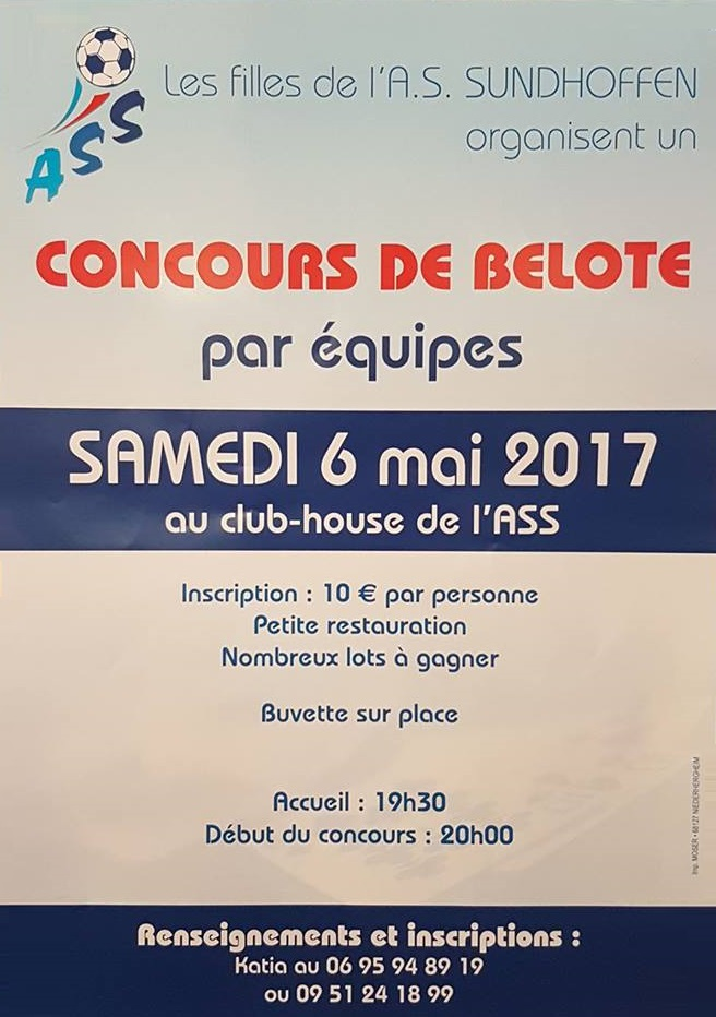 Concours Belote ASS