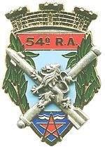 54e Régiment d'Artillerie de Hyères