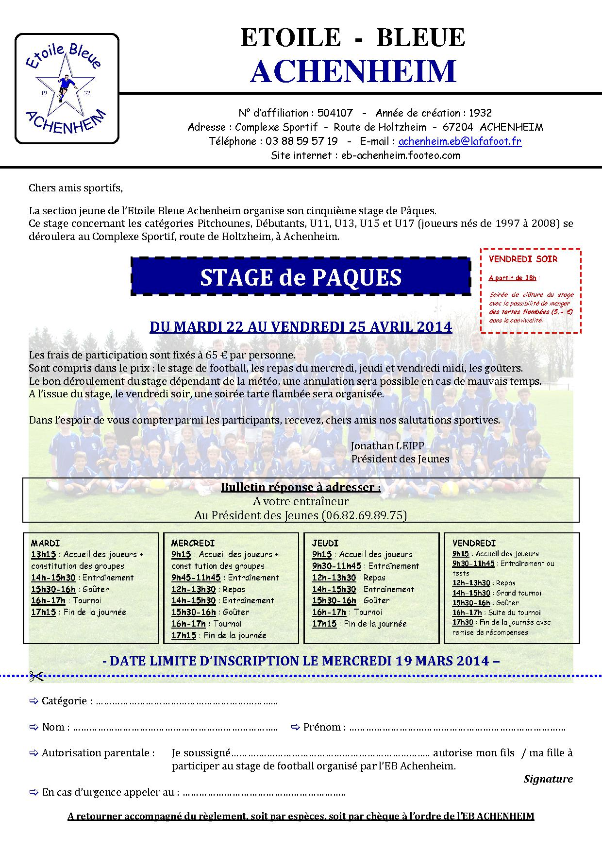 EBA   Invitation Stage 2014