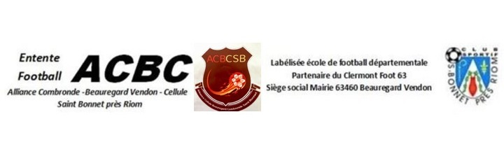 Alliance  Combronde-Beauregard Vendon-Cellule-St Bonnet : site officiel du club de foot de Cellule - footeo
