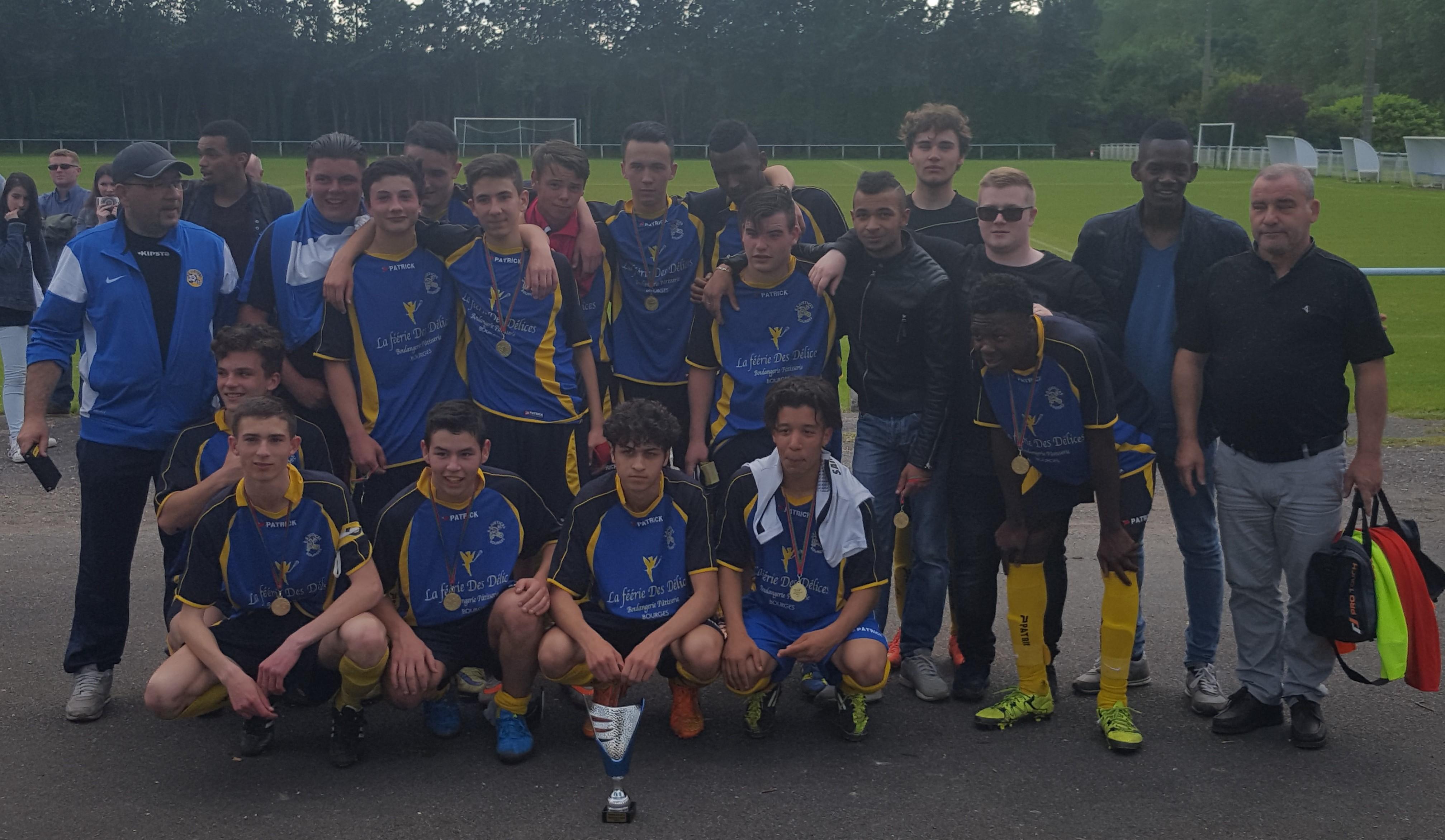 Equipe U18 finale 2015-2016