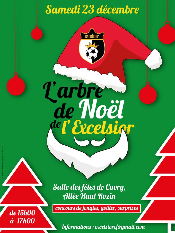 Affiche Arbre de Noël 2018
