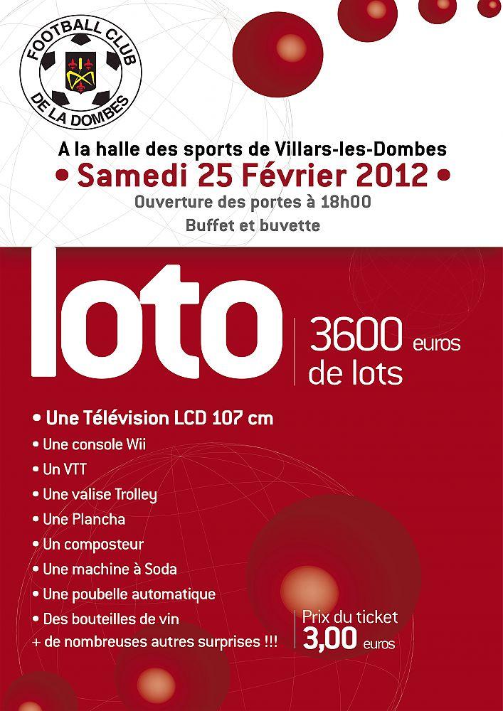 Affiche loto 2012