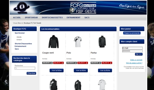 La boutique du FCF