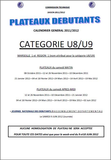 Plateau-U8-U9-date